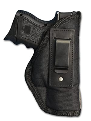 New Barsony Gun IWB Holster + Single Magazine Pouch for Compact, Sub Compact 9mm 40 45