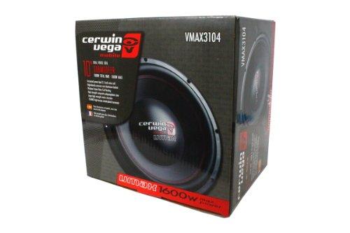 Cerwin Vega V3104 10 Dvc 4-Ohm 1600W/1200W R Studio Subwoofer