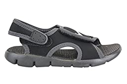 386519-011 KIDS INFANT SUNRAY ADJUST 4 NIKE BLACK/ANTHRACITE/WHITE