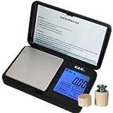 Mini-Balance de haute précision au centième de gramme 100g x 0.01g -noir