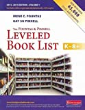 img - for The Fountas & Pinnell Leveled Book List, K-8+: 2013 - 2015 Edition, Volume 1 & 2 book / textbook / text book