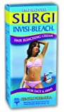 Surgi Invisi-Bleach Hair Bleaching Cream for Face and Arms Hair Coloring Products