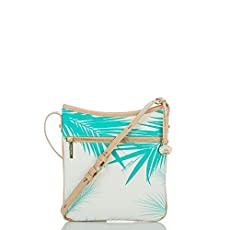 Avenue Crossbody<br>Turquoise Palm