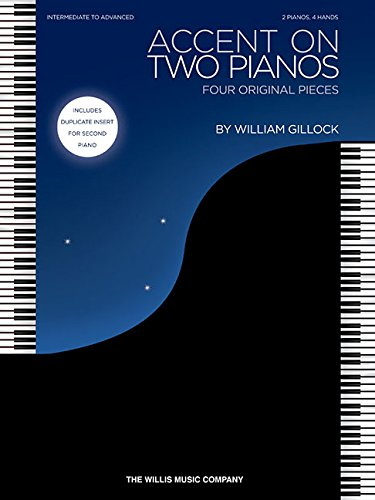Accent on Two Pianos: Intermediate to Advanced Level