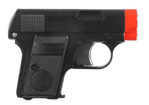 HFC .25 Semi Automatic Pistol Gas Powered Airsoft Gun - Black