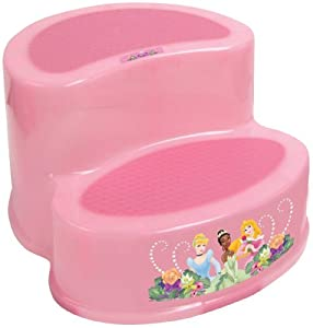 Ginsey Disney Princess 2-Step Stool