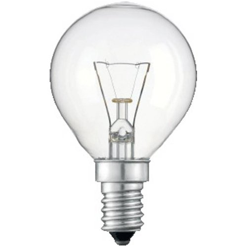 Philips Tropfenlampe TROPFEN/ball klar E14 SINGLE 40W