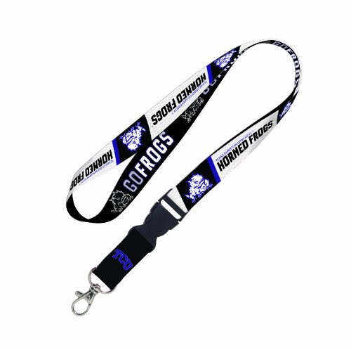 NCAA Texas Christian Horned Frogs Lanyard with Detachable Buckle
