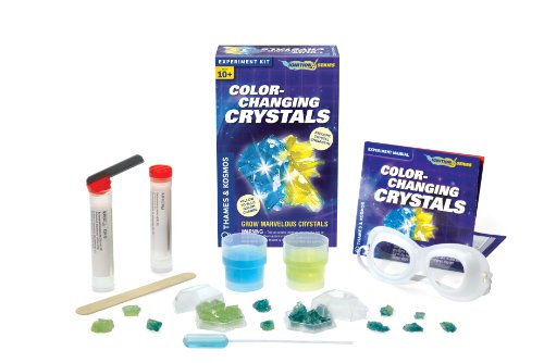 Thames and Kosmos Color-Changing Crystals Science Kit - 1