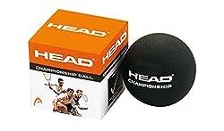 Head Championship Double Dot Squash Ball (Black)