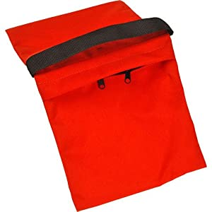 Impact Empty Zippered Sandbag - 15 lb (Orange)