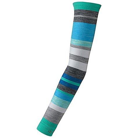 Smartwool PhD Knit Arm Warmer Horizon Blue L/XL