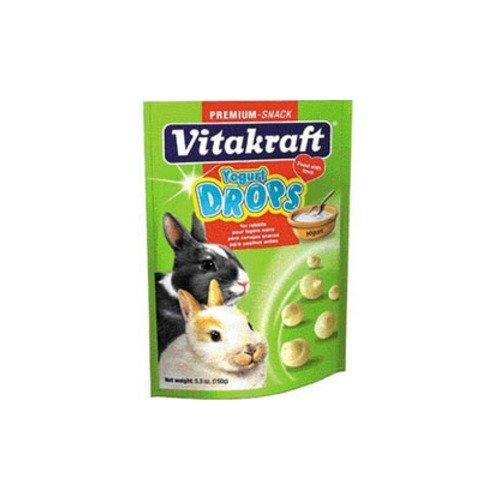 Vitakraft Yogurt Drops Rabbit Treats 5.3-oz box (Yogurt Drops For Rabbits compare prices)