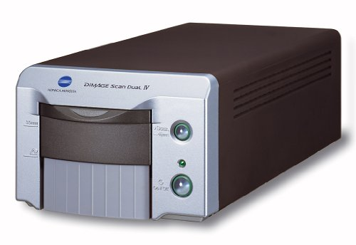 Minolta Scan Dual IV USB 2.0 35mm APS Film Scanner