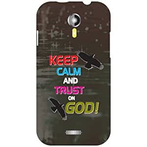 Micromax A 117 Phone Cover - Keep Calm Matte Finish Phone Cover