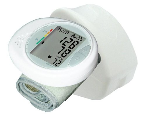 Cheap NatureSpirit® English/Spanish Talking Wrist Blood Pressure Monitor Model KD-797 (KD-797)