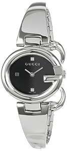(手快)古琦Gucci YA134501 Guccissima 女士时尚提花手镯腕表 折后仅$416.5