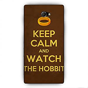 EYP LOTR Hobbit Back Cover Case for Sony Xperia M2