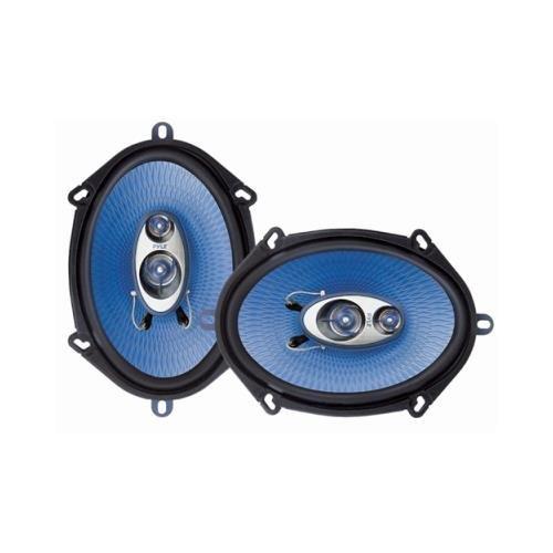 Pyle Pl573Bl Pair Pyle Pl573Bl 5X7/6X8 3 Way 300W Car Audio Speakers 5X7 6X8 Pl-573Bl