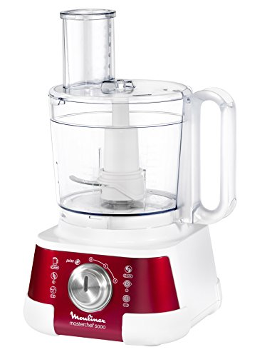 Moulinex FP520G Masterchef 5000 Robot da Cucina, Rosso/Bianco