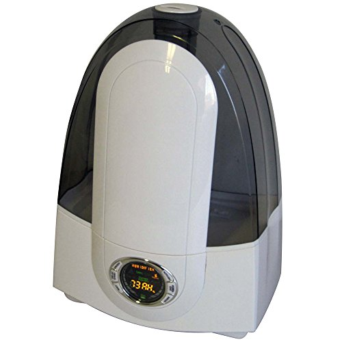 Optimus U-31006 Output Cool Mist Ultrasonic Humidifier with LCD Display, 2.0-Gallon - 1