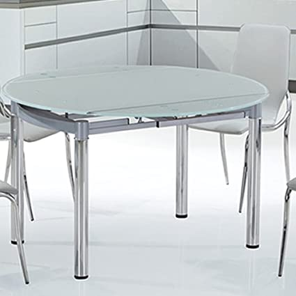 Nubes Round Glass Table