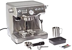 Breville RM-BES900XL Certified Remanufactured Dual Boiler Semi Automatic Espresso Machine from Breville ( Refurbished)