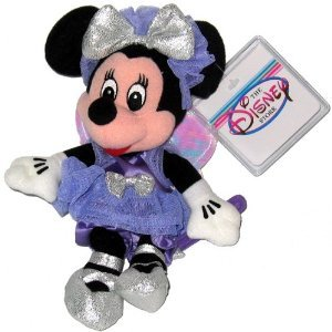 Minnie Sugar Plum Fairy - Disney Mini Bean Bag Plush - 1