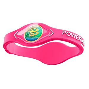 Power Balance-The Original Performance Wristband (Neon Pink/White, Medium)