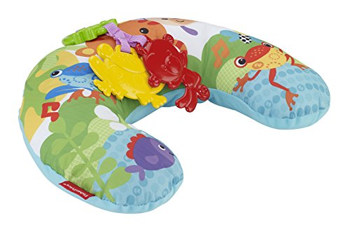 Fisher Price - Comfort Vibe Play Wedge - Rainforest Friends - 1
