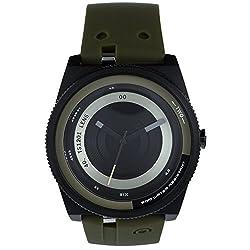 TACS Color Lens Analog Black Dial Unisex Lens Concept Watch -TS120