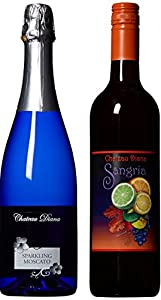 Craft Wine Her Sparkling & His Red Mixed Pack California Red Wine Blend & Italian Sparkling Moscato 2 x 750 ml