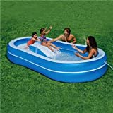 Pool Slides:Intex slip N squirt Pool