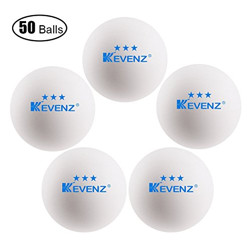 Kevenz 3 Star 40mm Table Tennis Balls Advanced Training