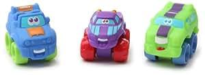 Hasbro - Playskool - 90803 - Jouet Premier âge - Pack de 3 Ptimou - Tonka