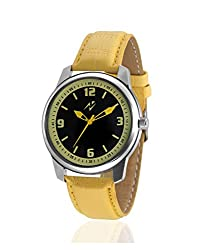 Yepme Giyan Mens Watch - Black/Yellow - YPMWATCH1295