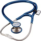 MDF Instruments MDF797DD-04 ER Premier Cardiology Stainless Steel Dual Head Adult-Pediatric Stethoscope With Adult...