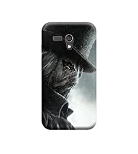 Ebby Premium Printed Back Case Cover With Full protection For Motorola Moto G (Designer Case)