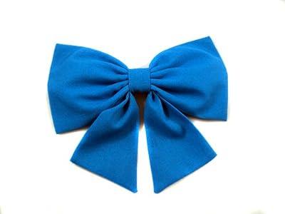 """Aqua/Teal Ariel """"The Little Mermaid"""" Inspired Cheer Hair Bow"""