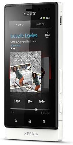 Sony Xperia Sola (MT27i – Dual Core) | White image