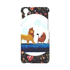 BLUEDIO Designer Printed Back case cover for HTC Desire 728 - G5604