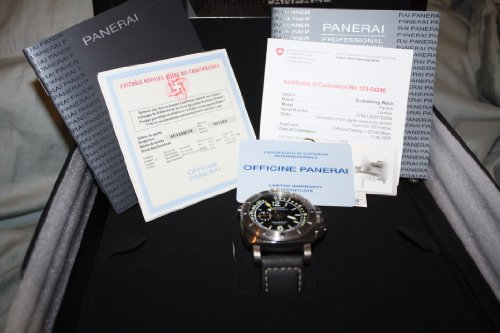 Panerai PAM 193 Depth Meter Gauge Submersible Professional Instrument Watch