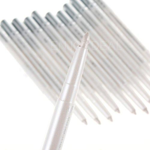 Enjoydeal 5Pcs White Highlight Waterproof Cosmetic Makeup Eyeliner Pencil Eye Shadow Pen