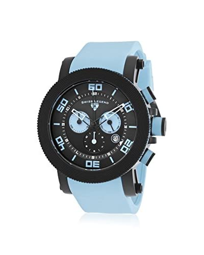Swiss Legend Men's 30465-BB-01-BBLAS Cyclone Blue/Black Silicone Watch