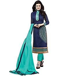 Shiroya Brothers Women's Cotton Printed Unstitched Regular Wear Salwar Suit Dress Material - B06Y29HJLG