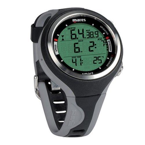 Mares Scuba Smart Dive Computer - Black/Grey