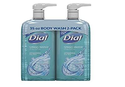 Dial Antibacterial Body Wash, Spring Water (35 fl. oz., 2 pk.) by DIAL