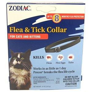 Zodiac Flea & Tick Collar for Cats & Kittens,