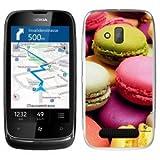 Buzzebizz Coque pour Nokia Lumia 610 Motif Macaron 2