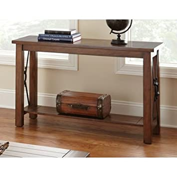 Steve Silver Rosewood 48x18 Sofa Table